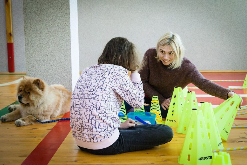 social cynology 1495 1024x683 - <b>Одно сердце на двоих.</b> Как собаки помогают людям с инвалидностью и без - Заборона