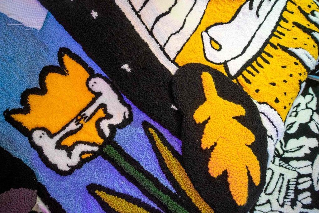 ukrainian carpets 02 1024x683 - <b>Маленький світ комфорту.</b> Історія українського бренду килимів, який їде на виставку в Ісландію - Заборона