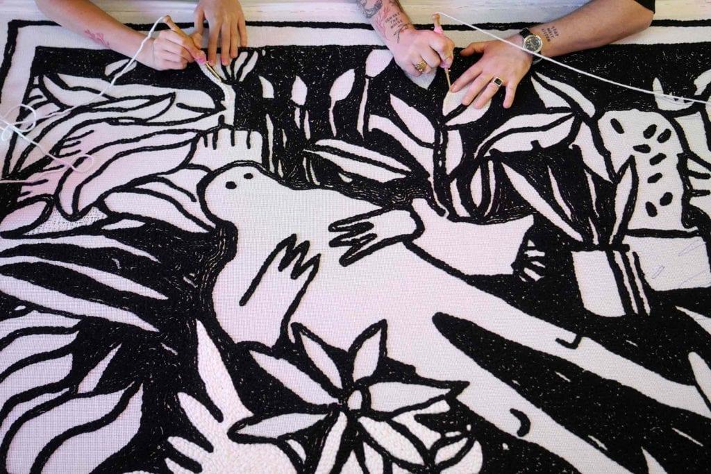 ukrainian carpets 04 1024x683 - <b>Маленький світ комфорту.</b> Історія українського бренду килимів, який їде на виставку в Ісландію - Заборона