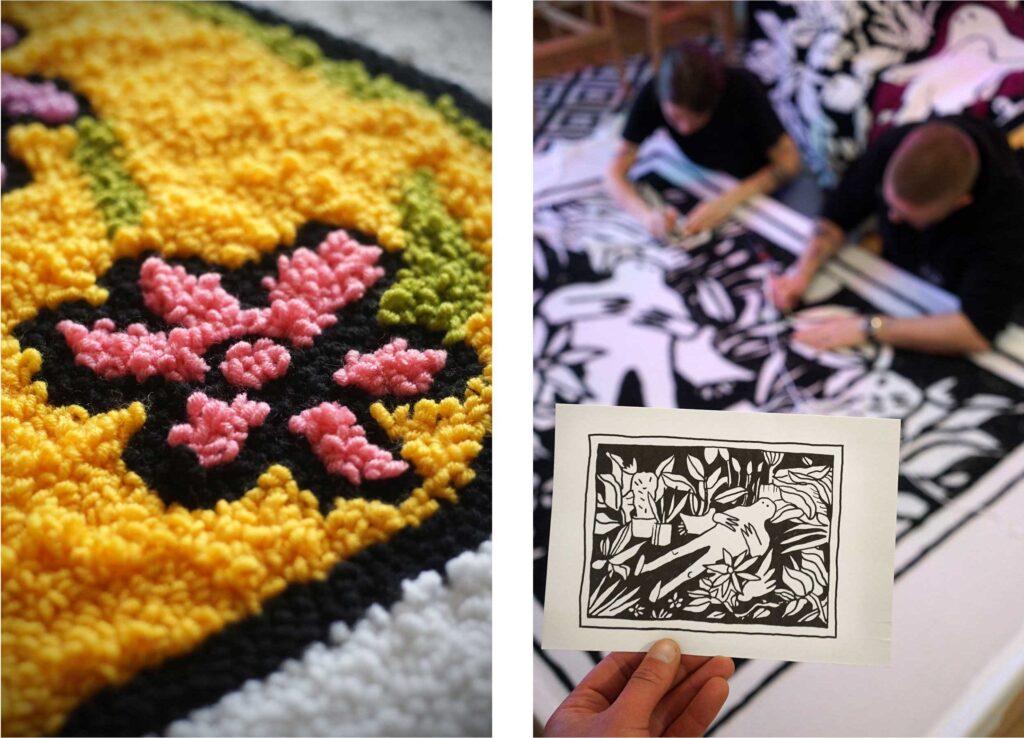 ukrainian carpets 07 1024x738 - <b>Маленький світ комфорту.</b> Історія українського бренду килимів, який їде на виставку в Ісландію - Заборона