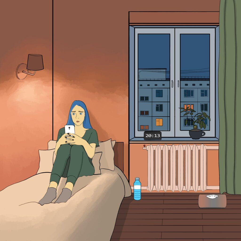 1 buchatska comics 03 1024x1024 - <b>Війна з собою кожен день.</b> Комікс Марини Бучацької про розлад харчової поведінки - Заборона