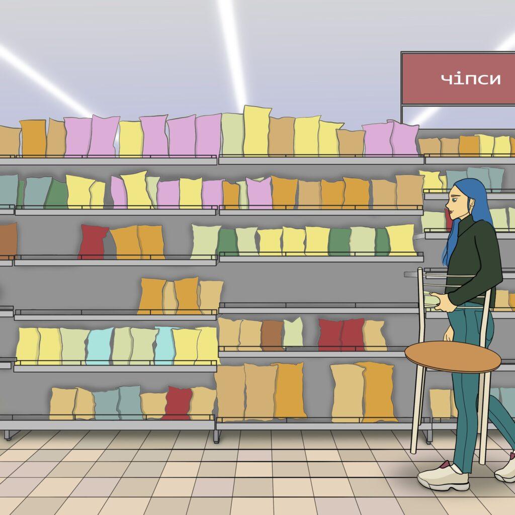 3 buchatska comics 02 1024x1024 - <b>Війна з собою кожен день.</b> Комікс Марини Бучацької про розлад харчової поведінки - Заборона