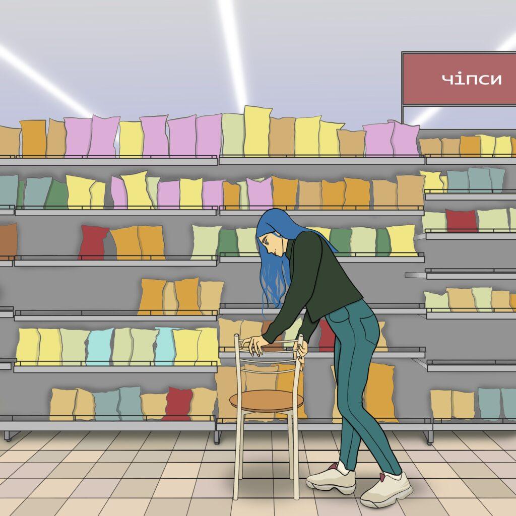3 buchatska comics 03 1024x1024 - <b>Війна з собою кожен день.</b> Комікс Марини Бучацької про розлад харчової поведінки - Заборона