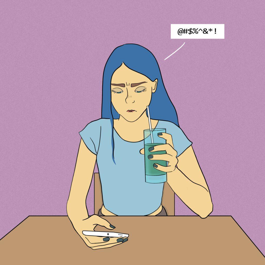 4 buchatska comics 03 1024x1024 - <b>Війна з собою кожен день.</b> Комікс Марини Бучацької про розлад харчової поведінки - Заборона