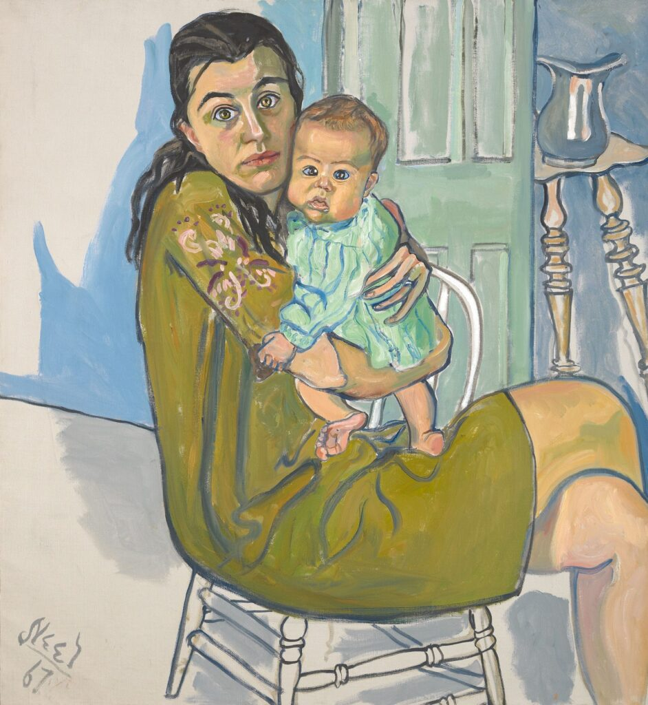 alice neel mother child 1 942x1024 - <b>«Я — погана мати».</b> Як відрізнити післяпологову депресію від втоми та що робити, якщо у вас вона є - Заборона