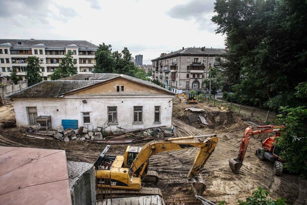 demolished buildings kyiv 28 1024x683 - <b>В Киеве активно сносят историческую застройку.</b> Вот 25 зданий, которые мы уже потеряли или скоро можем потерять - Заборона