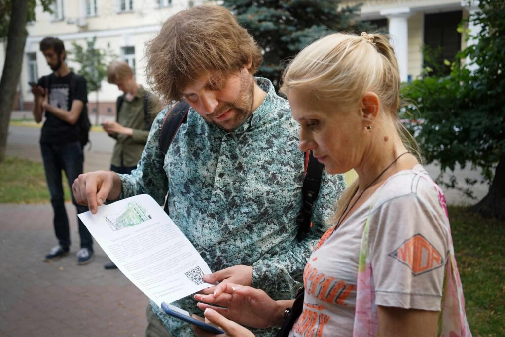 dsc07739 1024x683 - <b>«Квіти України».</b> В центре Киева снова разрушают здание, но называют это реставрацией - Заборона