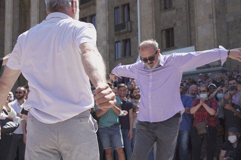 tbilisi pride 31 1024x683 - <b>Gay Pride in Tbilisi has been viciously attacked.</b> Authorities turned a blind eye as participants and journalists were beaten - Заборона