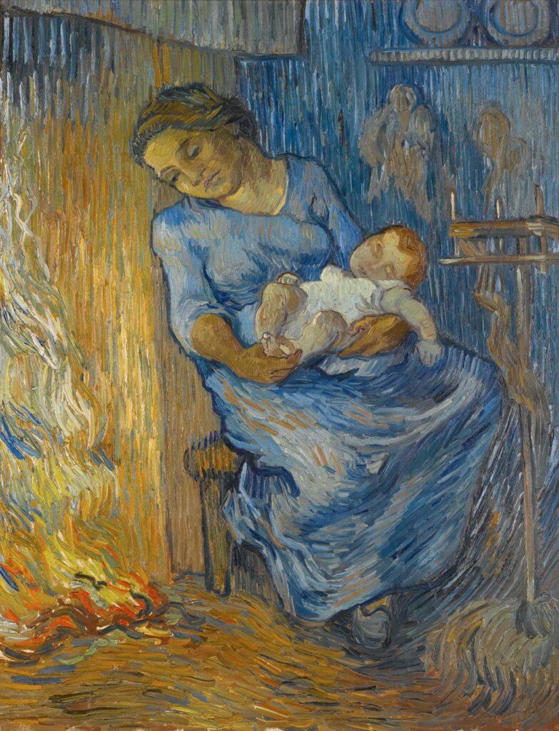 vincent van gogh   l homme est en mer 1889 783x1024 - <b>«Я — погана мати».</b> Як відрізнити післяпологову депресію від втоми та що робити, якщо у вас вона є - Заборона