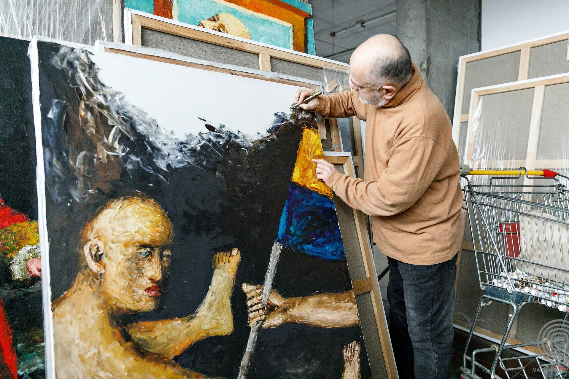 can58021 - <b>«Я йшов до нього 30 років…»</b> Який світ будував художник Олександр Ройтбурд - Заборона