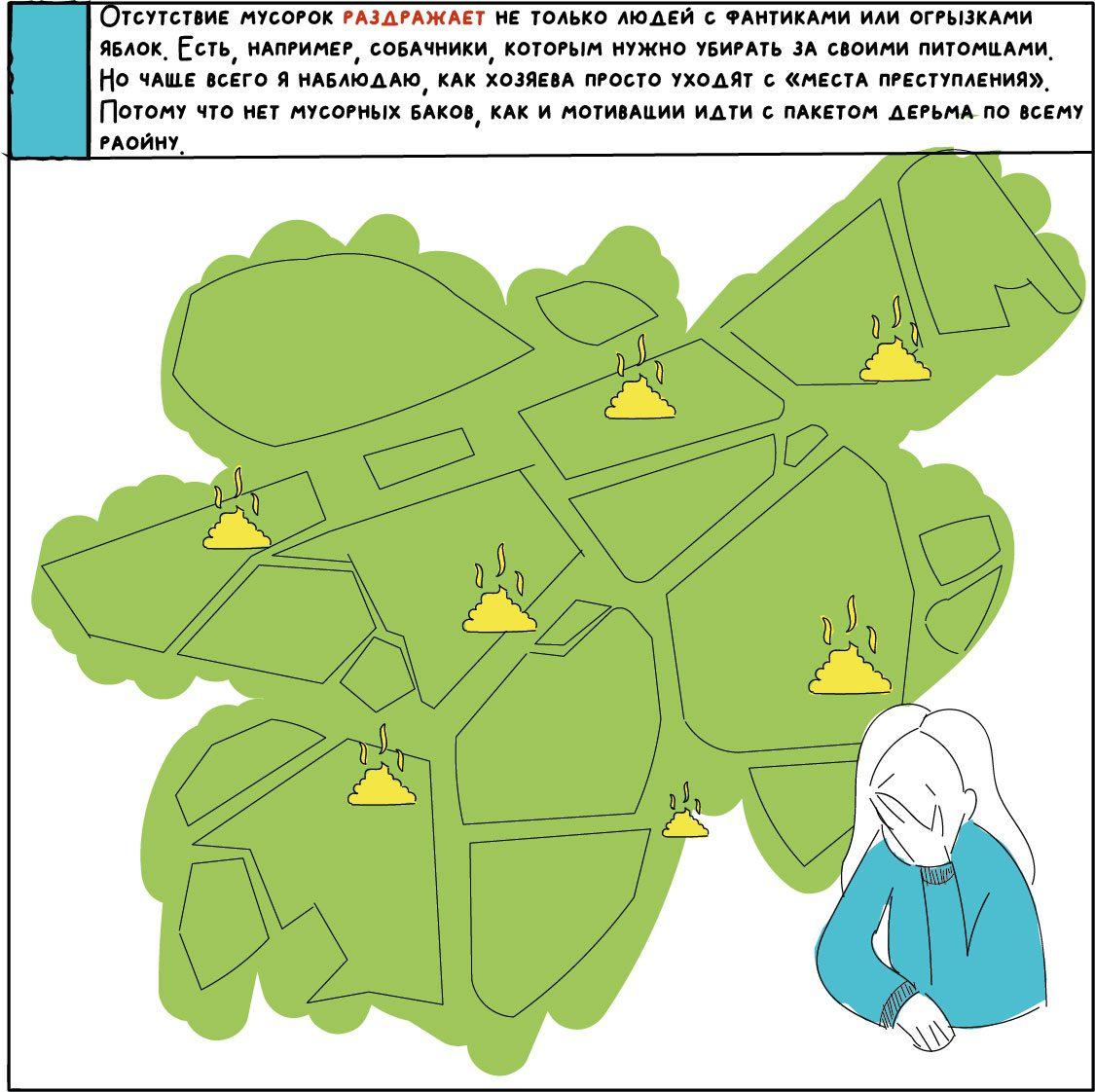 comics about kyiv 16 - <b>«Собі побібікай!»</b> Комікс Анастасії Оприщенко про те, що дратує в Києві найбільше - Заборона