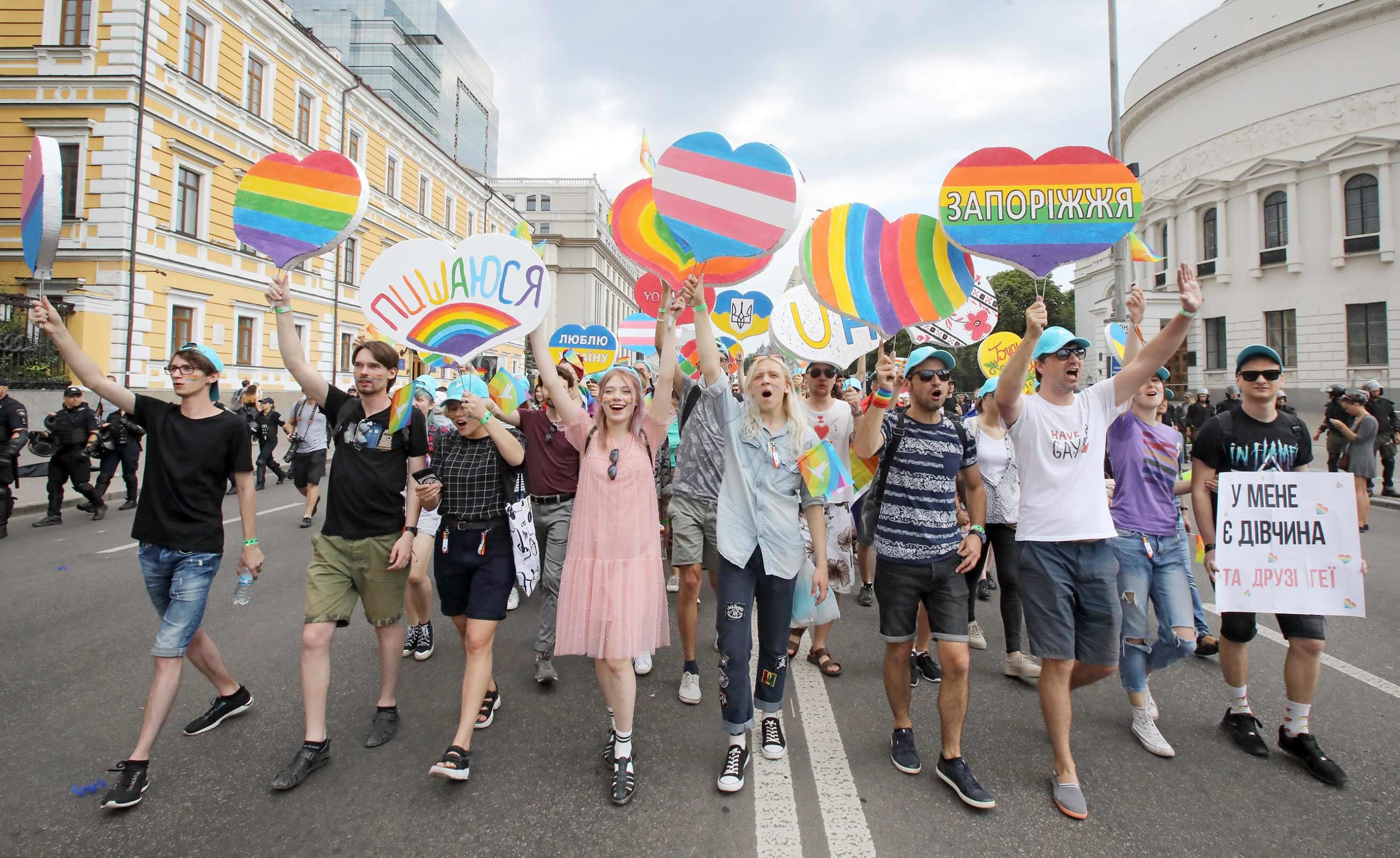 """gettyimages 1151691979 scaled - <b>Three Years Ago, LGBT Activist Vitalina Koval Was Attacked by """"Far-Right"""" Activists, and It Changed Her Life Dramatically.</b> Here Is Her Story - Заборона"""