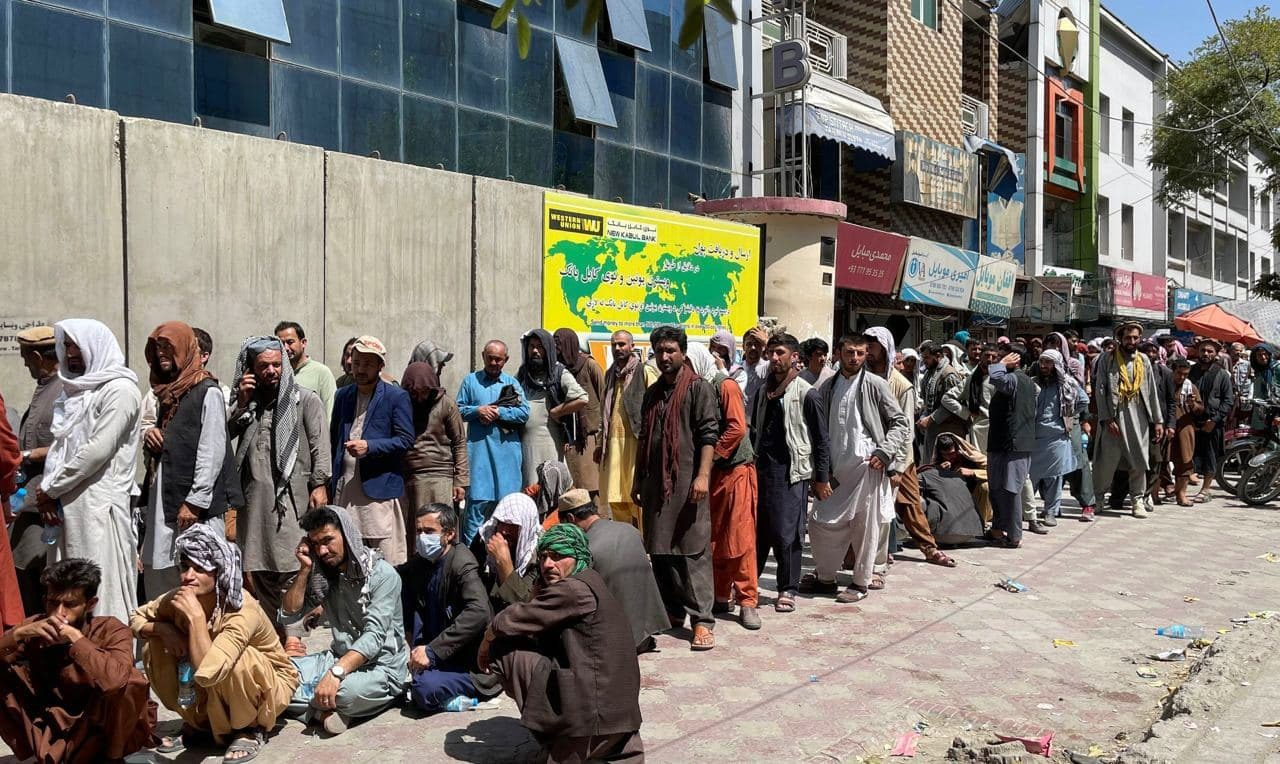 gettyimages 1234858091 - <b>Ukrainian Families Wait for Evacuation from Kabul.</b> But Ukraine's Foreign Ministry Says No More Evacuations Are Planned - Заборона