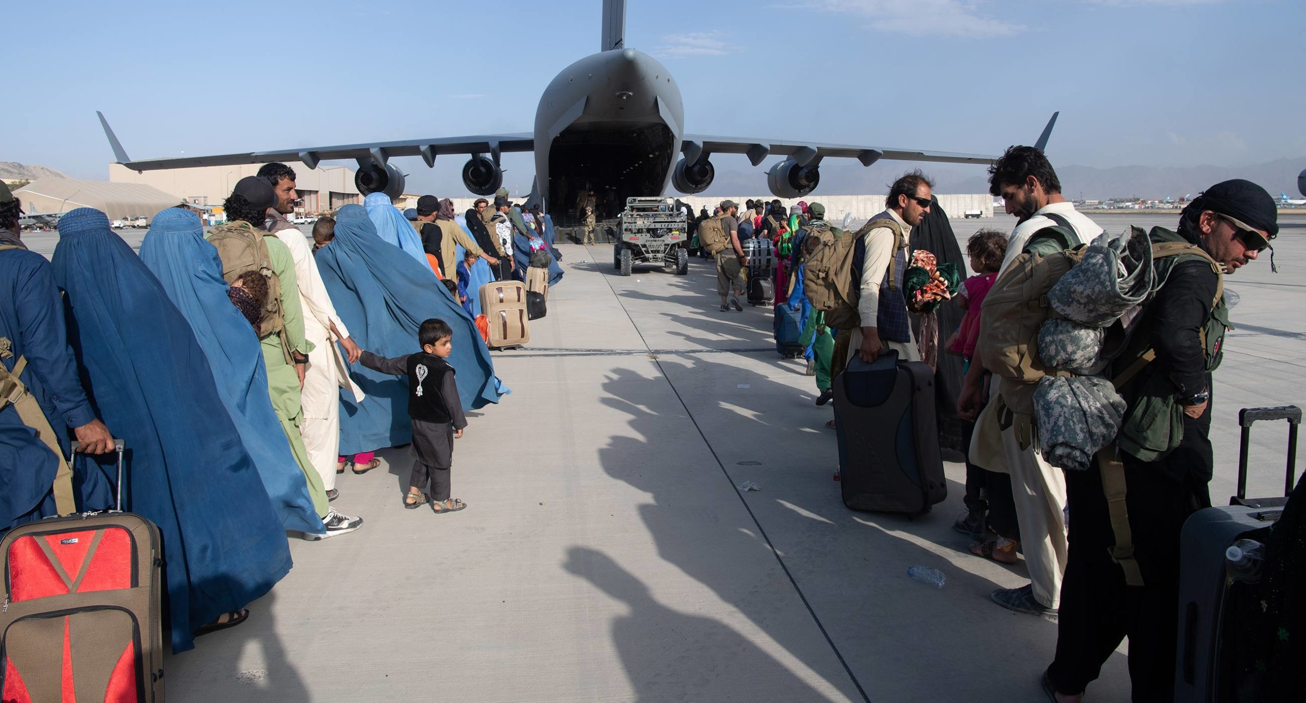 Ukrainian Families Wait for Evacuation from Kabul. But Ukraine's Foreign Ministry Says No More Evacuations Are Planned