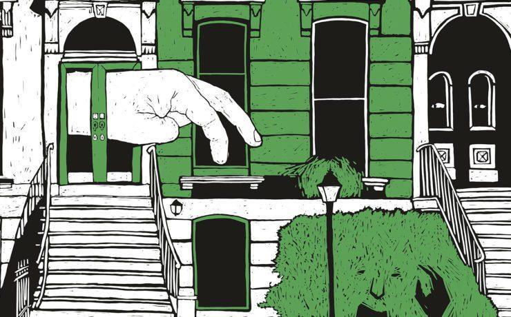 Ілюстрація до книги Фріди Ісберґ «Сверблячка»