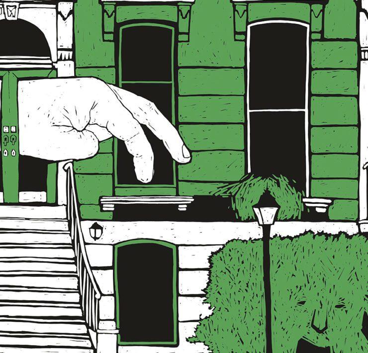 Иллюстрация к книге Фриды Исберг «Зуд»