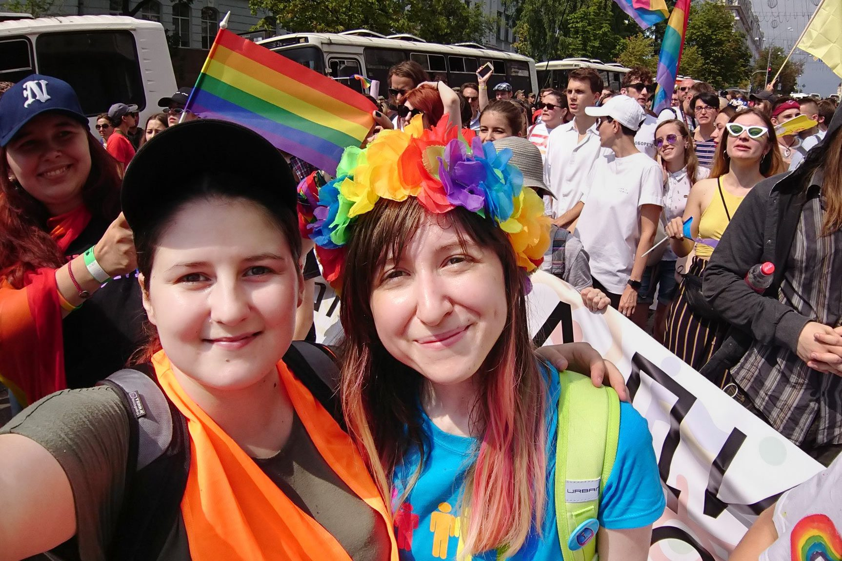 """vital koval 02 - <b>Three Years Ago, LGBT Activist Vitalina Koval Was Attacked by """"Far-Right"""" Activists, and It Changed Her Life Dramatically.</b> Here Is Her Story - Заборона"""