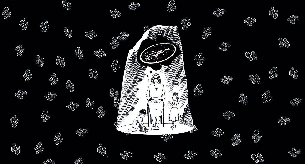 Вам запрещены аборты. Комикс Насти Оприщенко о том, как в Польше ограничивают права женщин
