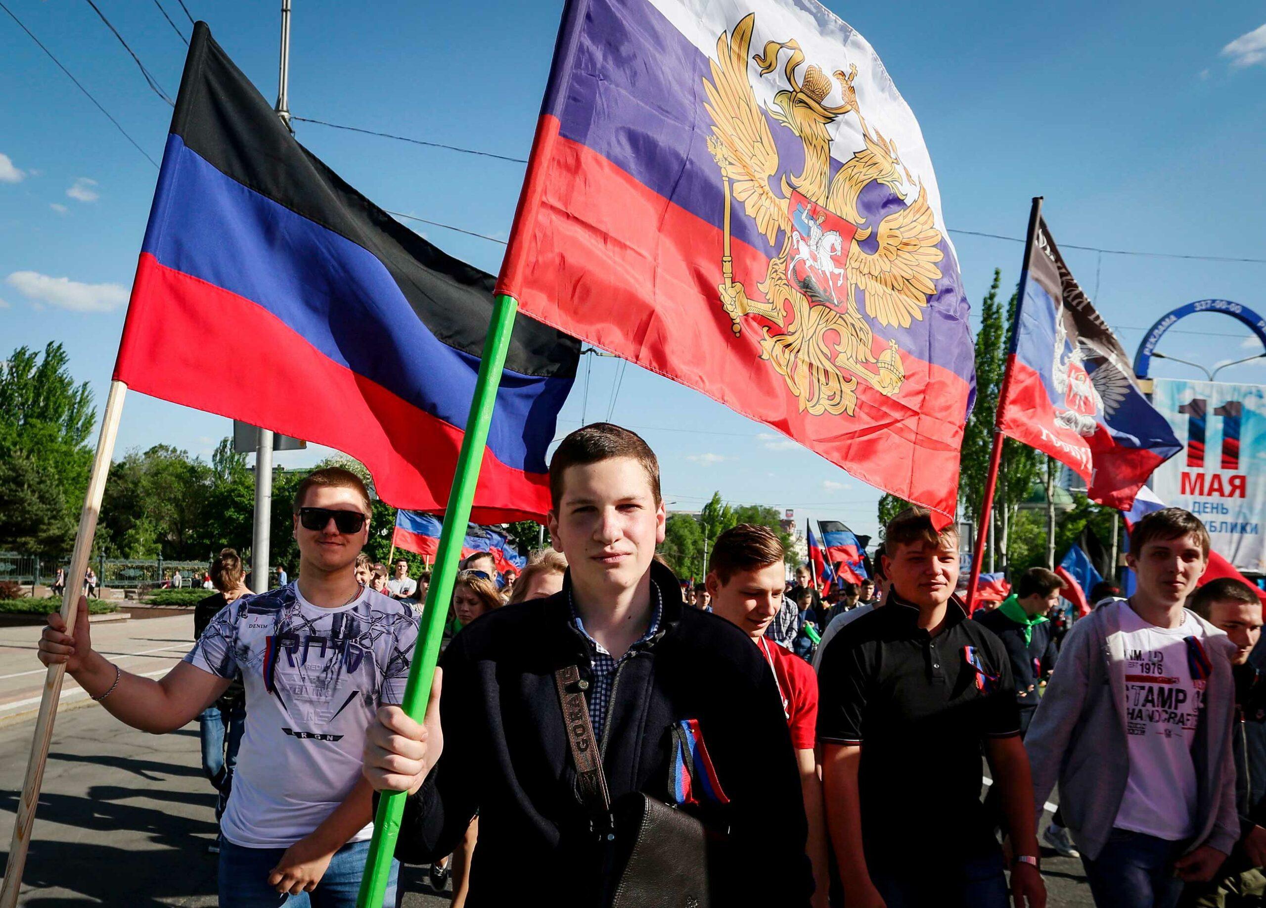 gettyimages 957395864 scaled - <b>«Русский мир» для наймолодших.</b> Як у «ЛДНР» вчать дітей любити Росію - Заборона