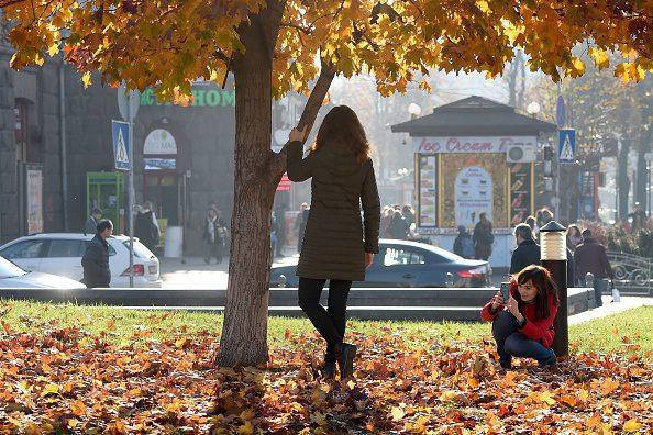 Осень в Киеве. Бабине літо