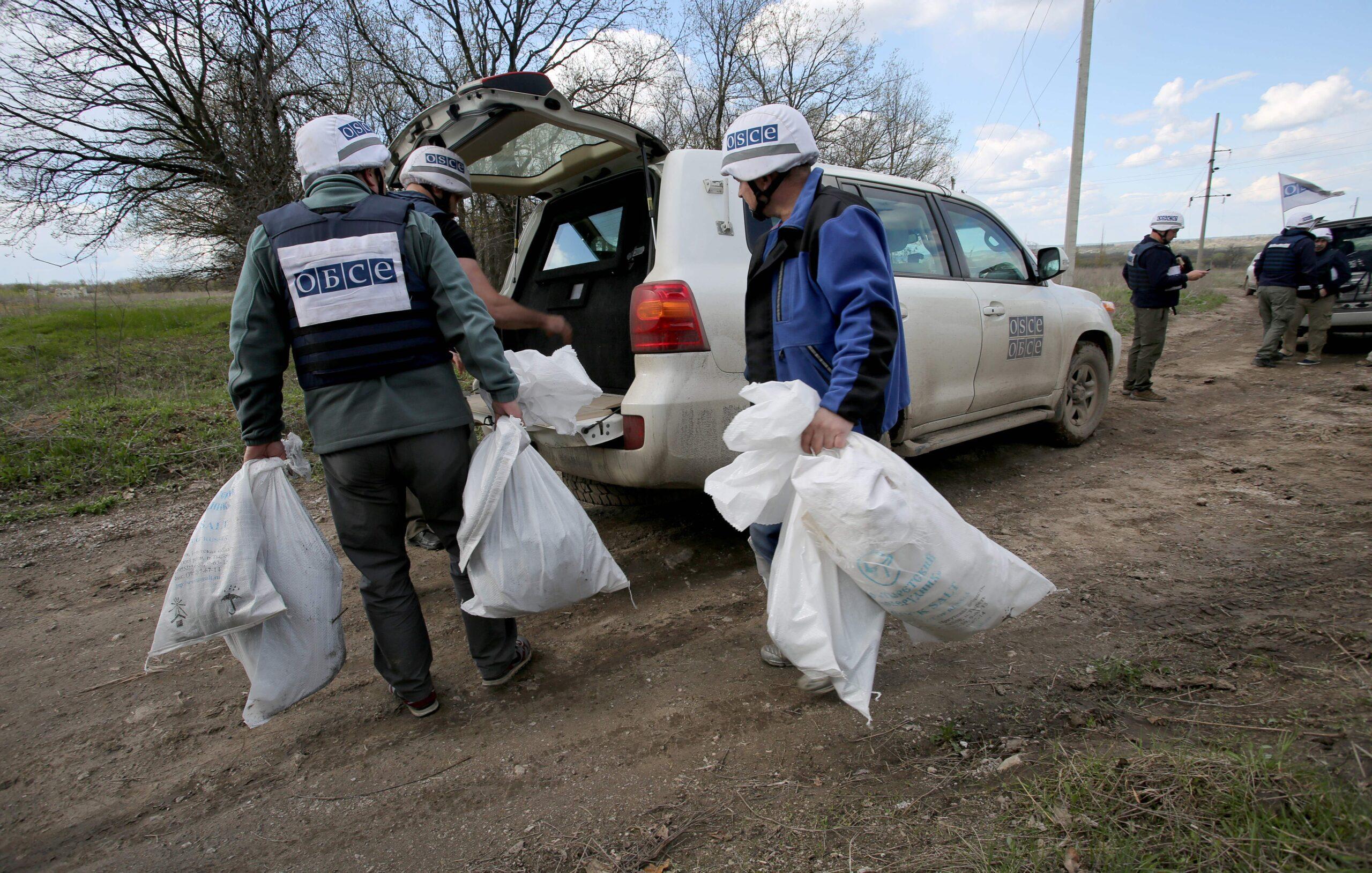 Бойовики «ДНР» заблокували спостерігачів ОБСЄ у Горлівці