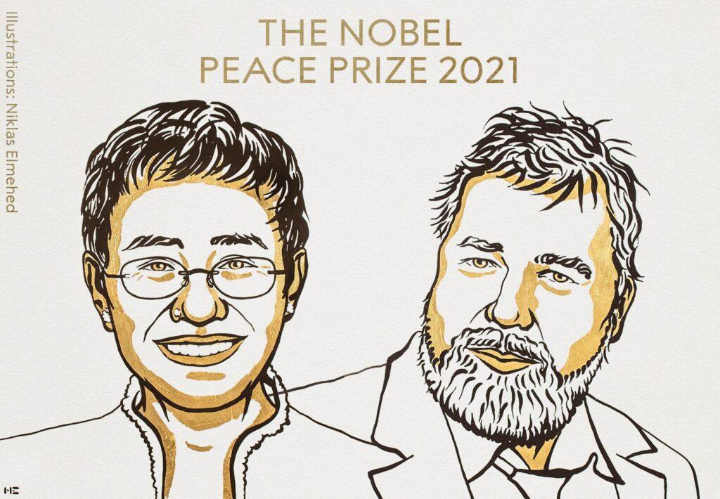 the noble peace prize 2021 1024x710 - <b>Нобелівська премія у 2021 році:</b> як COVID-19 вплинув на нагороду - Заборона